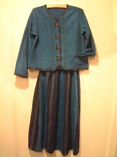 藍染の服(秋物)