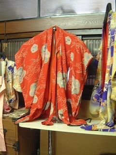 江戸縮緬の着物