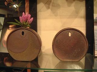 北村さんのまあるい掛け花