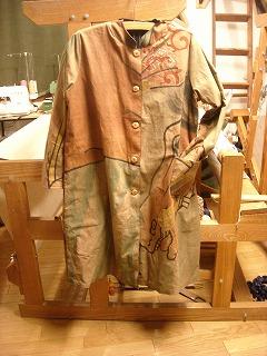 リバーシブルののぼり旗コート