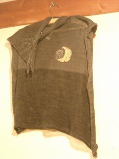 東川さんのセーター