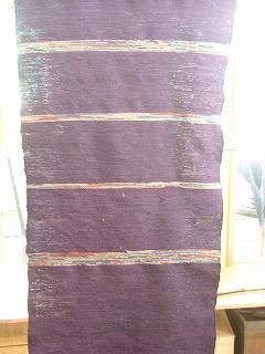 kさんの裂き織り