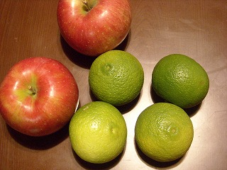 カボスとリンゴ