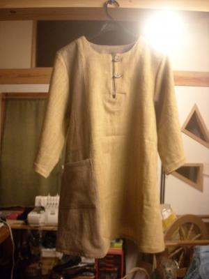 草木染の服