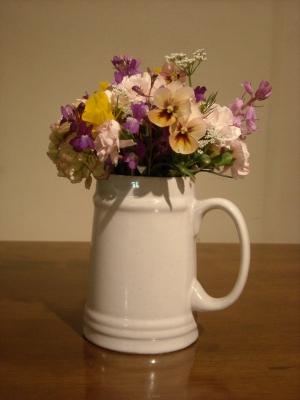 ゆうが君からもらった花