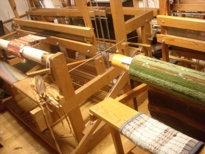 裂き織り2台