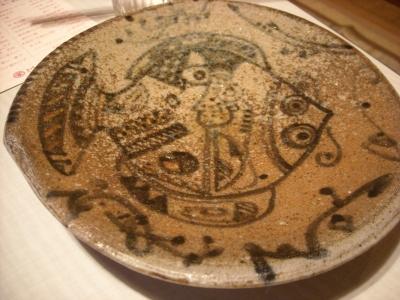 清水さんの皿