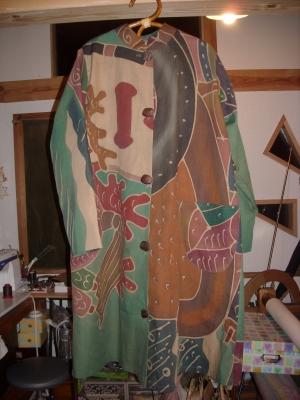 のぼり旗のコート