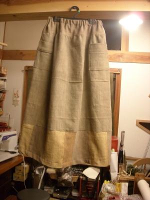 草木染のスカート