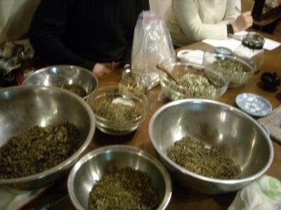 薬草茶作り